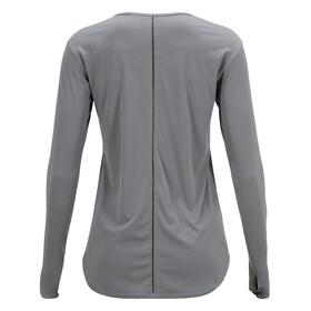Peak Performance Epic Maglietta a maniche lunghe Donna grigio
